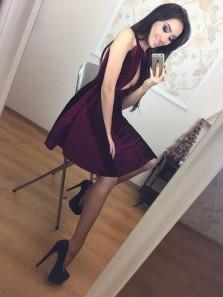 Cute A Line Halter Open Back Velvet Burgundy and Black Homecoming Dress, Elegant Short Dress, Little Black Dress, Short Prom Dress Under 100