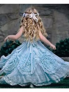 New Arrival Cute Tutu Dress, Teal Tulle Flower Girl Dress