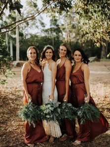 15 Idears Fall Bridesmaid Dress for Fall / Winter Wedding & Brides